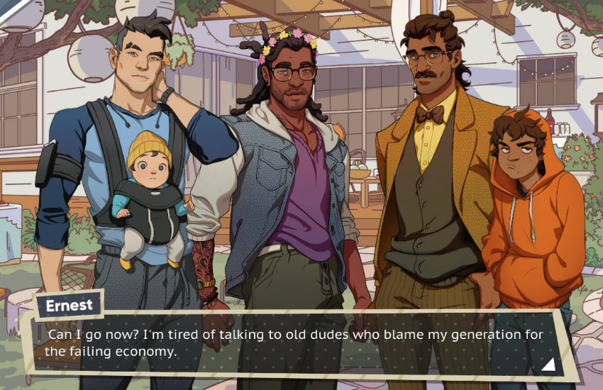 DudeAdam - Meet your dream daddy in new gay dating simulator game 01