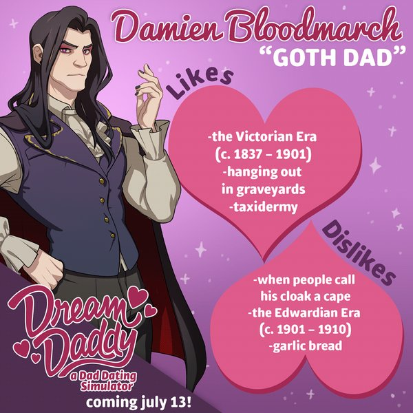 DudeAdam - Meet your dream daddy in new gay dating simulator game 05